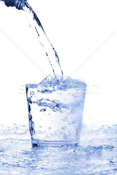 Water glass Stock photo © Fesus