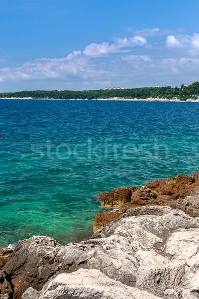 Playa Croacia Europa agua naturaleza Foto stock © Fesus