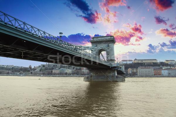 Budapest capital city of Hungary Stock photo © Fesus