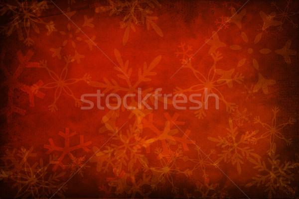 Navidad textura grunge pared diseno rojo color Foto stock © Fesus