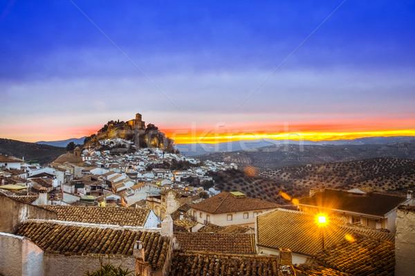 View over Montefrio in Granada, Spain Stock photo © Fesus