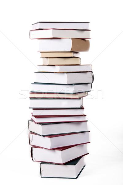 книга бизнеса бумаги книгах фон Сток-фото © Fesus
