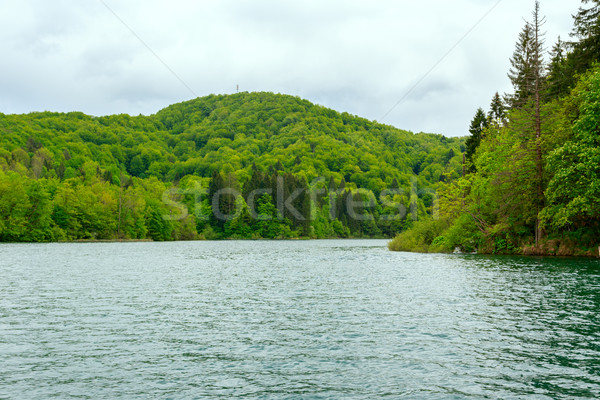 Stock photo: Plitvice Lakes National Park, Croatia