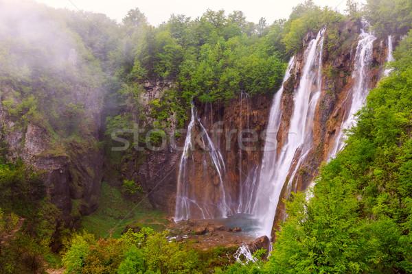 Plitvice lakes, Croatia Stock photo © Fesus