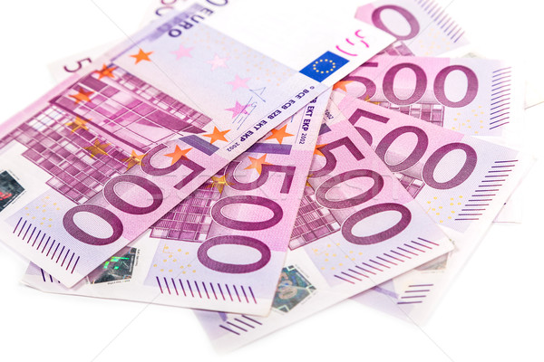 Stockfoto: Euro · geld · bank · business · papier
