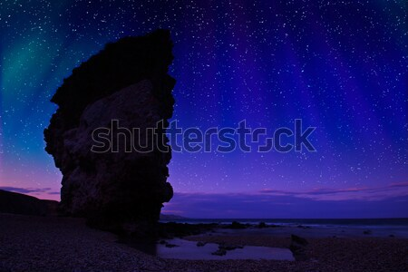 Night shot at Carbonares Stock photo © Fesus