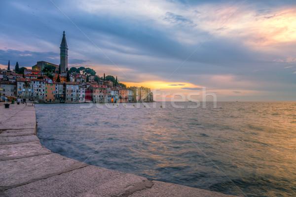 ストックフォト: 旧市街 · 海 · 海岸 · クロアチア · 1泊 · ヨーロッパ