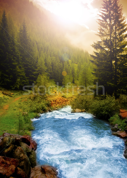 Mountain landscape Stock photo © Fesus