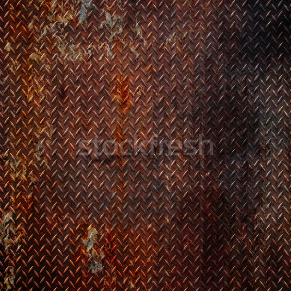 grunge diamond metal background  Stock photo © Fesus