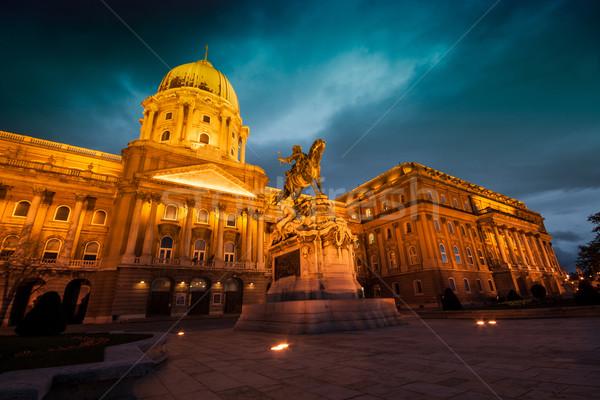 The historic Royal Palace  Stock photo © Fesus