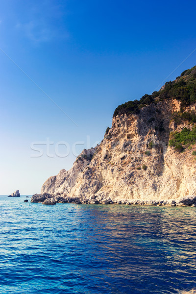 красивой морем ландшафты Закинф острове Греция Сток-фото © Fesus