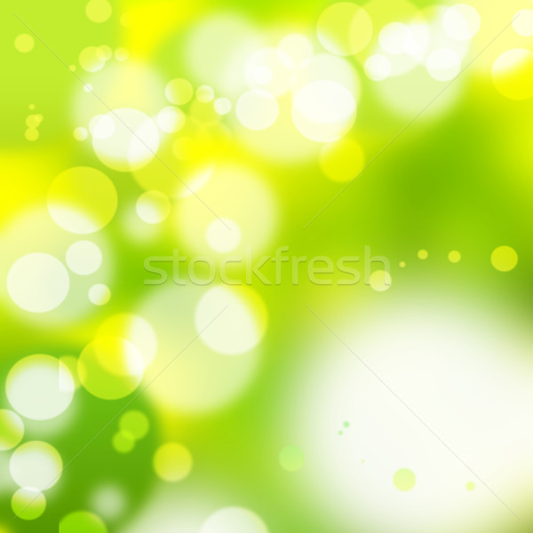 Flou lumières résumé fond orange disco Photo stock © Fesus
