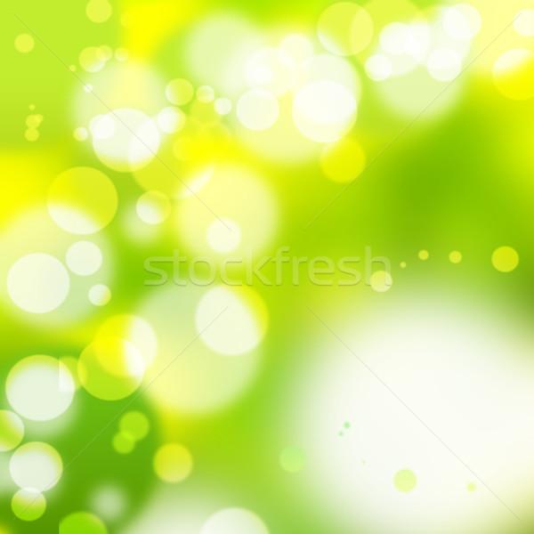 Borrão luzes abstrato fundo laranja discoteca Foto stock © Fesus