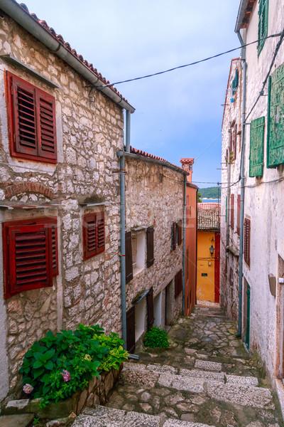 中世 旧市街 クロアチア 狭い 通り ストックフォト © Fesus