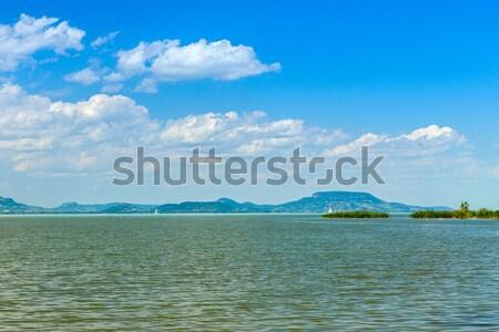 Jezioro Balaton Węgry lata plaży wody Zdjęcia stock © Fesus
