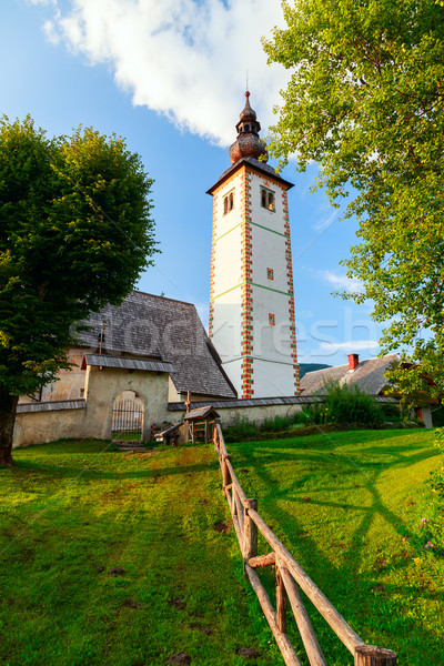 Church of St. John the Baptist in Ribchev Laz village Stock photo © Fesus