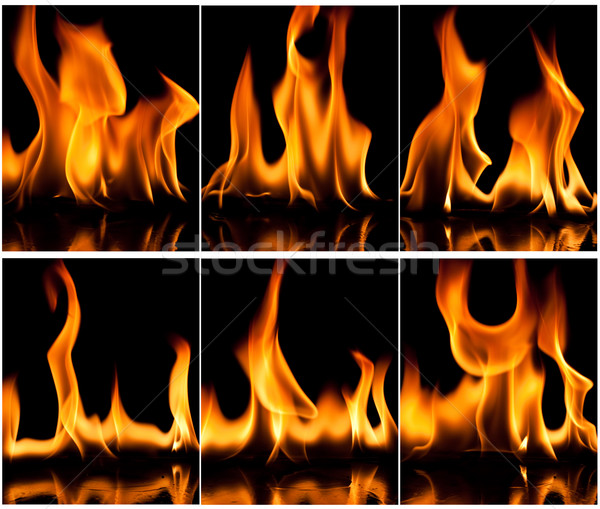 Fire Background Stock photo © Fesus
