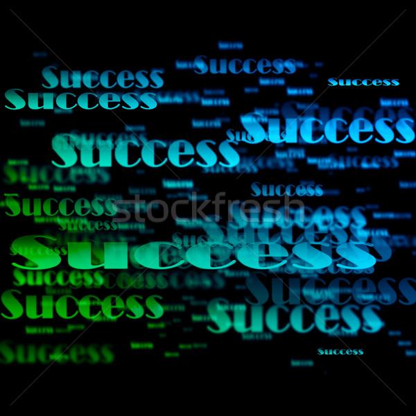 Success background  Stock photo © Fesus