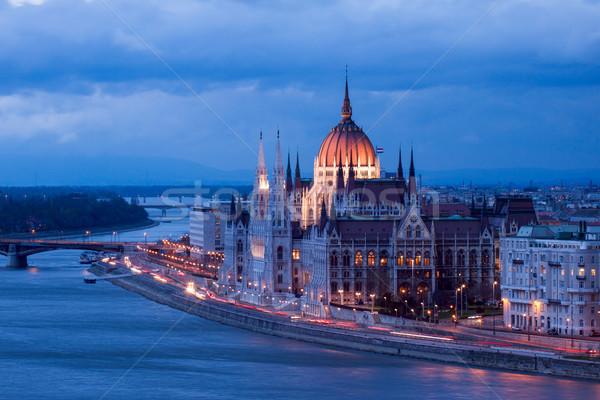 Parliament of Budapest Stock photo © Fesus