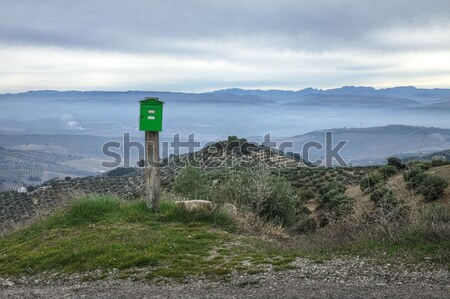 Mailbox in the Sierra Nevada, in Granada, Spain Stock photo © Fesus