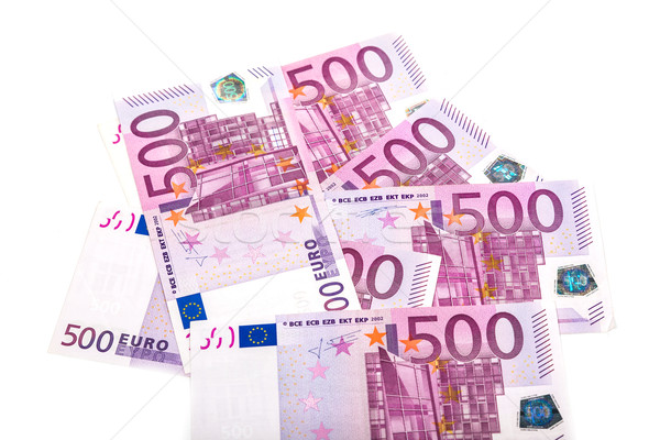 Stockfoto: Euro · geld · bank · business · papier