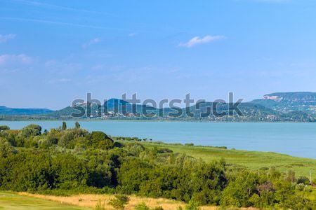 Landscape at Lake Balaton, Hungary Stock photo © Fesus
