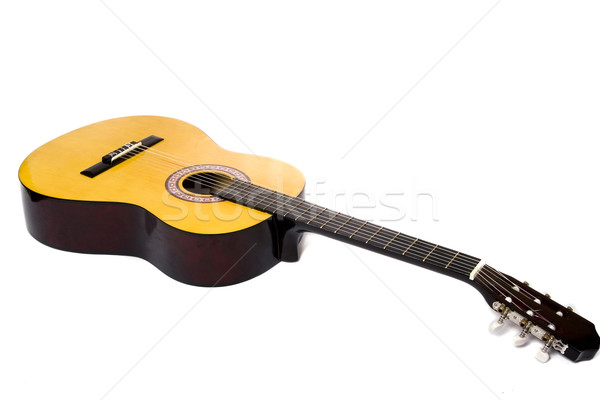 Acoustic guitar Stock photo © Fesus