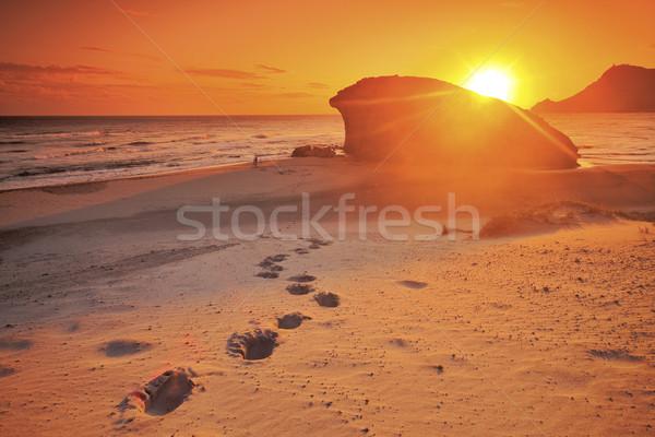 Monsul beach, Cabo de Gata natural park, AlmerIa, Spain  Stock photo © Fesus