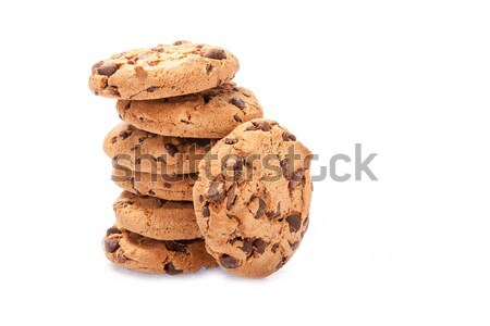 chocolate chips cookies Stock photo © Fesus
