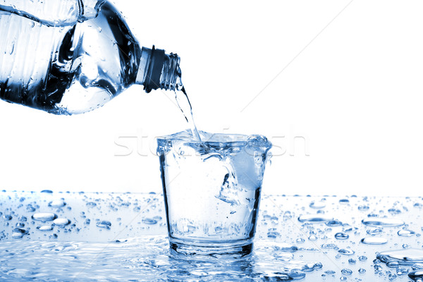 Water glass Stock photo © Fesus