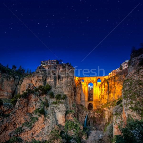 The village of Ronda in Andalusia, Spain.  Stock photo © Fesus