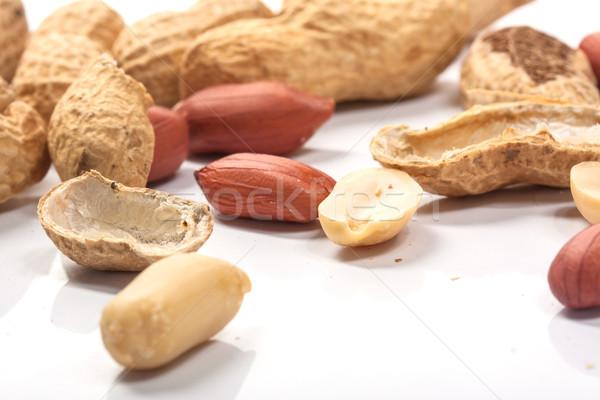 Dried peanuts Stock photo © Fesus