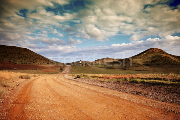Spanish landscape Stock photo © Fesus