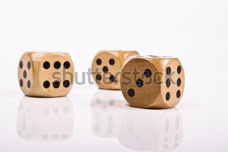 game of dice  Stock photo © Fesus