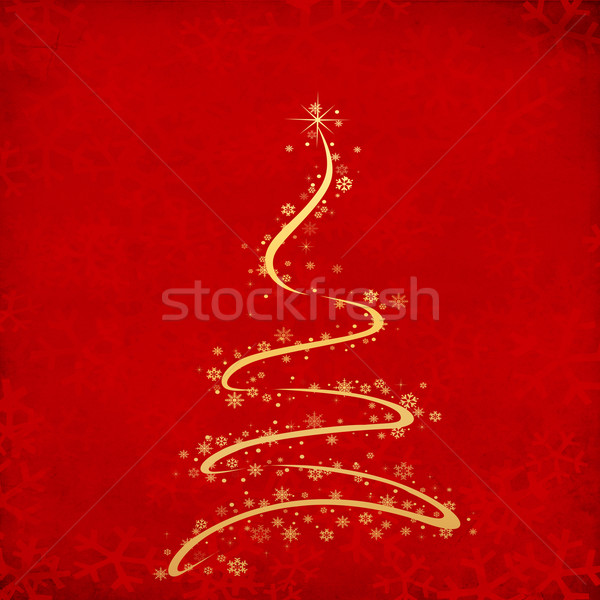 red christmas grunge texture background  Stock photo © Fesus