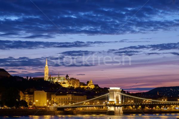 Budapest panorama Stock photo © Fesus