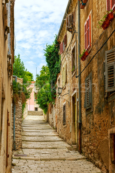 Narrow streets in Pula Stock photo © Fesus