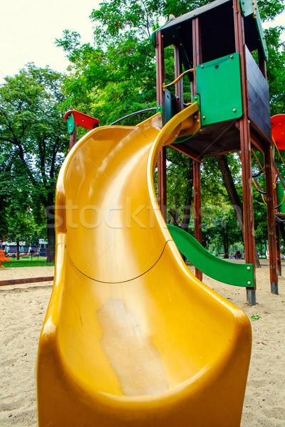 子供 スライド 公共 公園 空っぽ スポーツ ストックフォト © Fesus