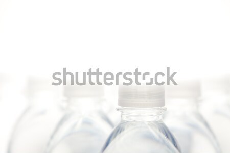 Wody butelek streszczenie biały kopia przestrzeń odwracalny Zdjęcia stock © feverpitch