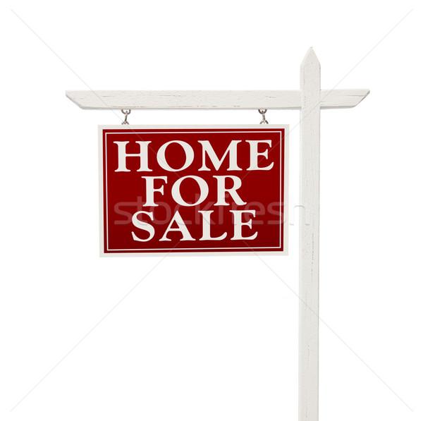 Stock fotó: Otthon · vásár · ingatlan · felirat · fehér · izolált