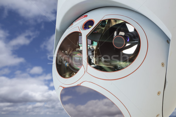 Closeup of Drone Camera and Sensor Pod Module Stock photo © feverpitch