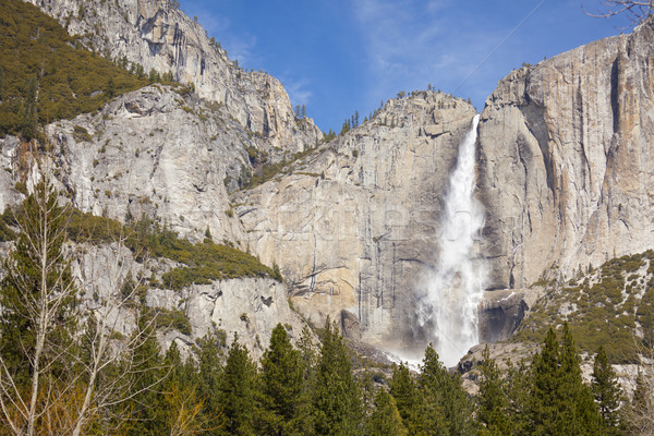 Upper Falls at Yosemite Stock photo © feverpitch