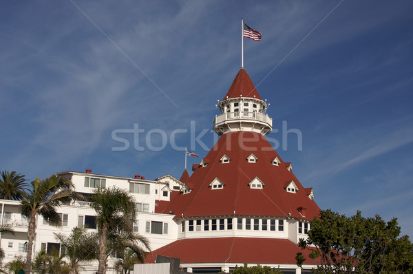Beautiful Hotel Del Coronado Stock photo © feverpitch