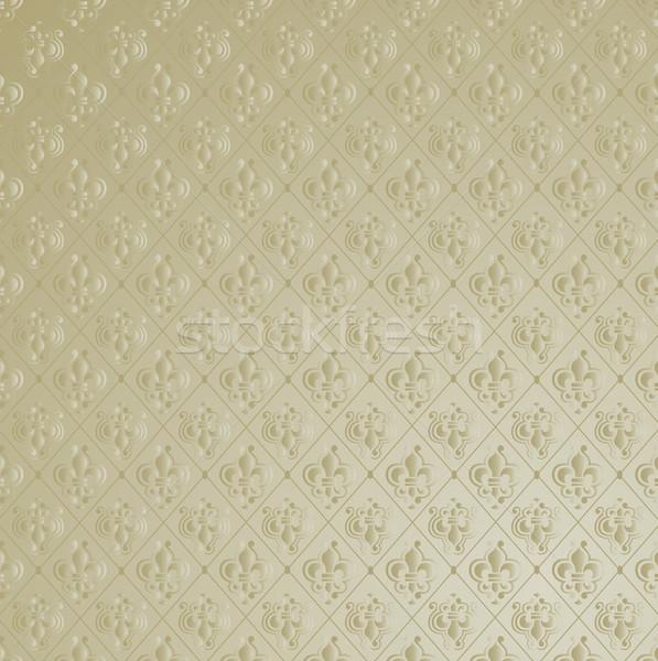 Fleur de Lis Wallpaper Background. Stock photo © feverpitch