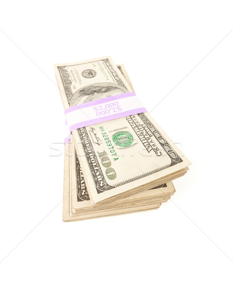 Stacks of One Hundred Dollar Bills Stock photo © feverpitch