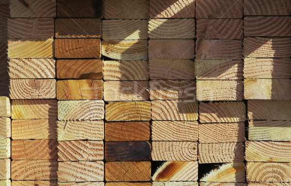 Stack of Construction Wood Stock photo © feverpitch
