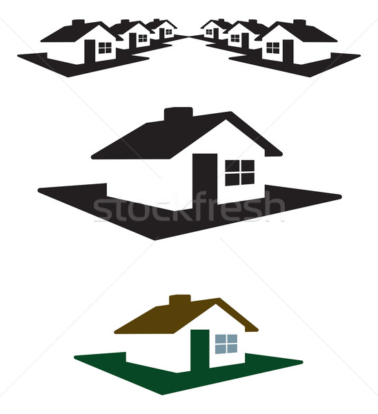 House Logo and Header Stock photo © feverpitch