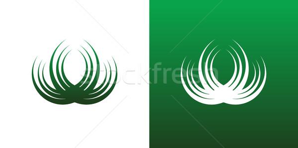 аннотация круга комбинация логотип икона символ Сток-фото © feverpitch