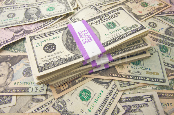 Stack of Money Stock photo © feverpitch