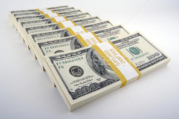 Hundred Dollar Bills Stock photo © feverpitch